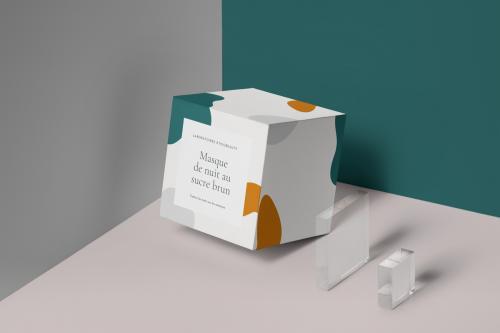 Boîte carré micro cannelure