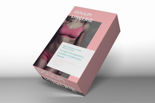 Boîte souple en carton simple cannelure